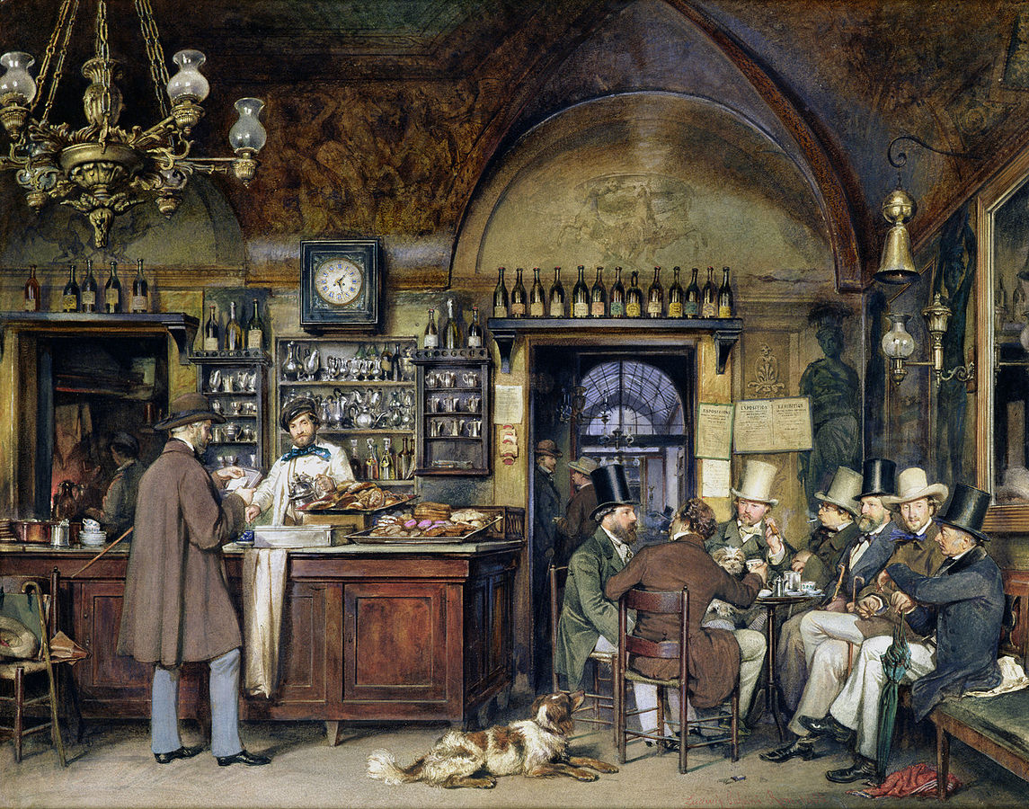 Ludwig_Passini_-_Künstler_im_Cafe_Greco_in_Rom